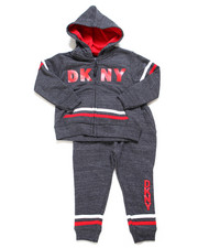 DKNY Jeans - 5th Ave 2 Piece Fleece Set (2T-4T)-2247747