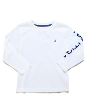 Nautica - Solid Long Sleeve T-Shirt  (4-7)-2247508