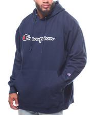 Champion - P/O Script Printed Logo Hoodie (B&T)-2248579