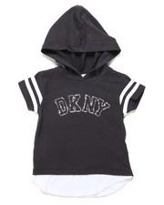 Girls - DKNY Hooded Tee (4-6X)-2247714