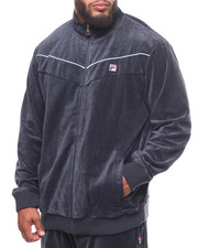 Light Jackets - Piped Velour Jacket (B&T)-2248978