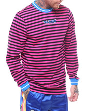 Pink Dolphin - WAVE STRIPE L/S TEE-2249064
