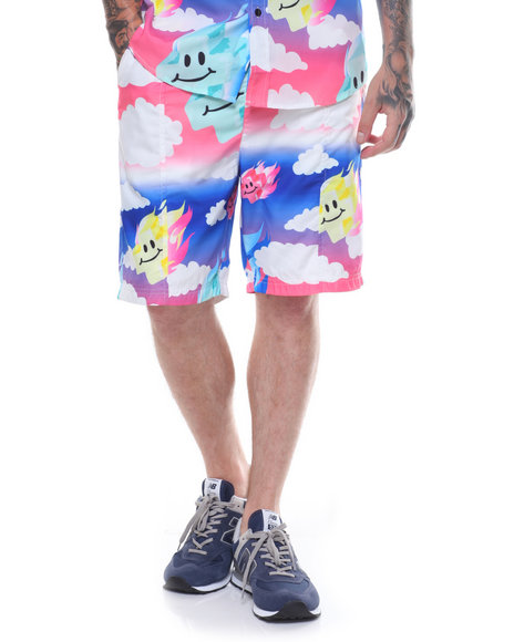 Pink Dolphin - MR POSITIVE ALLOVER SHORTS