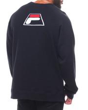 Pullover Sweatshirts - L/S Levi Crew Tee (B&T)-2248485