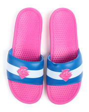 Pink Dolphin - Triple Split Waves Slides-2248392