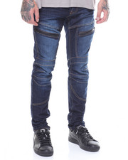 SMOKE RISE - ARTICULATED KNEE JEAN-2248833