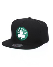 Mitchell & Ness - Boston Celtics Wool Solid Snapback Hat-2246857