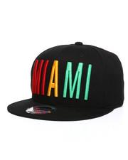 Hats - Miami Criss Cross City Snapback Hat-2248435