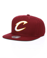 NBA, MLB, NFL Gear - Cleveland Cavaliers Wool Solid Snapback Hat-2246858