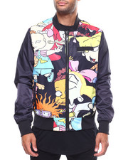 Members Only - Reversible Rugrat Nylon Bomber Jacket-2249969