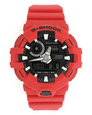 G-Shock by Casio - Analog-Digital Red Resin Strap Watch -2248447