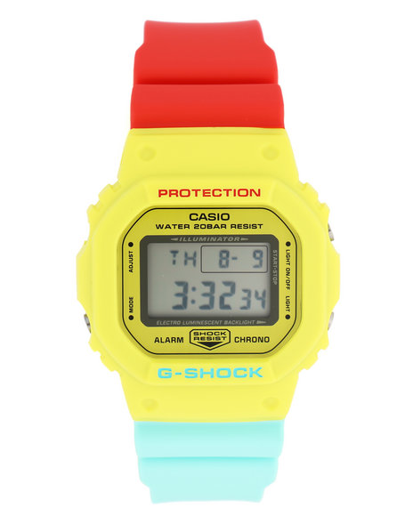 G-Shock by Casio - DW5600CMA-9 Breezy Rasta Mens Color Series Watch