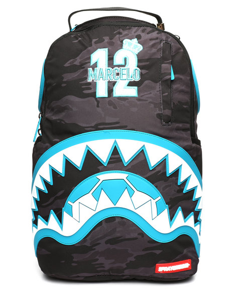 Sprayground - Marcelo Blue Rubber Shark Backpack (Marcelo Vieira Collaboration)