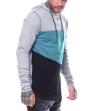 T-Shirts - RIPON CUT AND SEW LS HOODED TEE-2250195