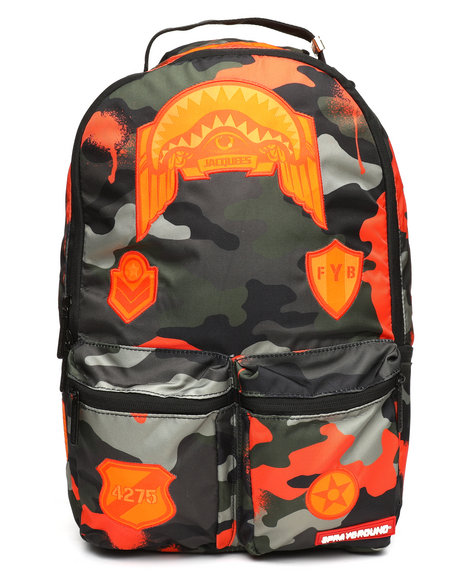 Sprayground - Jacquees Army Cargo Backpack (Unisex)