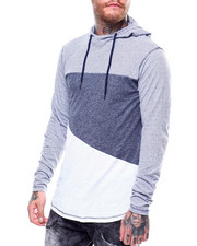 Shirts - RIPON CUT AND SEW LS HOODED TEE-2250391