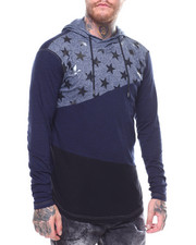 Shirts - LA VERNE STAR LS HOODED TEE-2250347