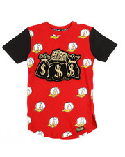 SWITCH - All Over Printed Tee w/Patch (8-20)-2249357