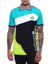 Shirts - PYRAMID COLORBLOCK POLO-2251113