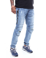 Buyers Picks - Logger Zip Pocket Distressed Jean-2251027
