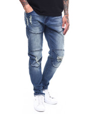 Buyers Picks - ENGINERED KNEE DISTRESSED JEAN-2251041