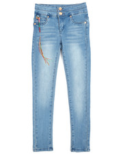 DKNY Jeans - Stacked Waistband Full Length Jeggings (7-16)-2250789