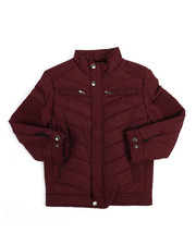 Outerwear - Quilted Jersey Lined Jacket (8-20)-2249425
