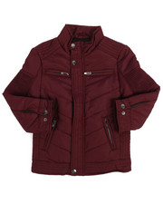 Outerwear - Quilted Jersey Lined Jacket (2T-4T)-2249401