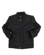 Outerwear - Quilted Jersey Lined Jacket (4-7)-2249405