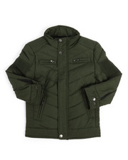 Outerwear - Quilted Jersey Lined Jacket (4-7)-2249410