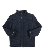 Outerwear - Quilted Jersey Lined Jacket (8-20)-2249420