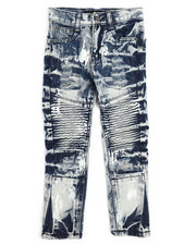 Jeans - Moto Distressed Jeans (4-7)-2250946