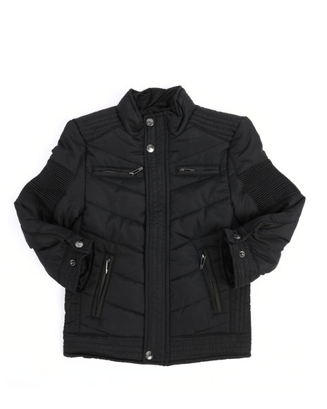 Arcade Styles - Quilted Jersey Lined Jacket (2T-4T)