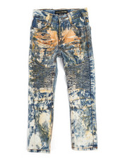 Jeans - Moto Distressed Jeans (4-7)-2250940