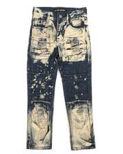Arcade Styles - Cut & Sew Knee Jeans (4-7)-2250907