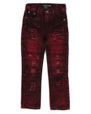 Jeans - Cut & Sew Knee Jeans (4-7)-2250891