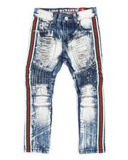 Jeans - Moto Zipper Jeans w/Taping (4-7)-2250710