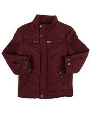 Outerwear - Quilted Jersey Lined Jacket (4-7)-2249415