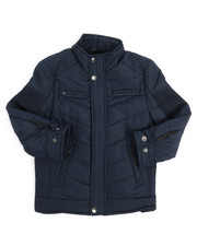 Outerwear - Quilted Jersey Lined Jacket (4-7)-2249388