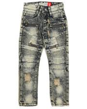 Jeans - Moto Zipper Denim Jeans (4-7)-2249701