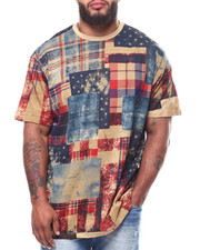 Akademiks - S/S Check Start Tee (B&T)-2251552