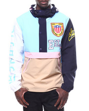 SMOKE RISE - COLORBLOCK WINDBREAKER-2251631