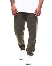 Sweatpants - Basic Solid Fleece Joggers (B&T)-2251154