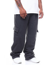 Big & Tall Faves - Fleece Open Button Cargo Pant (B&T)-2251140