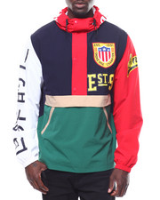 SMOKE RISE - COLORBLOCK WINDBREAKER-2251620