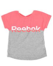 Reebok - Color Block Split Tee (4-6X)-2250154