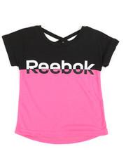 Reebok - Color Block Split Tee (4-6X)-2250356