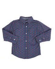 Ben Sherman - Printed Woven Shirt (4-7)-2249295