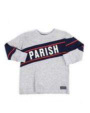 Parish - Long Sleeve Tee w/Contrast Blocking (2T-4T)-2250724