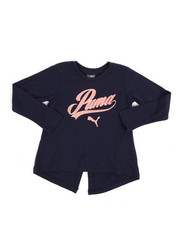 Puma - Puma Long Sleeve Fashion Top (2T-4T)-2249305